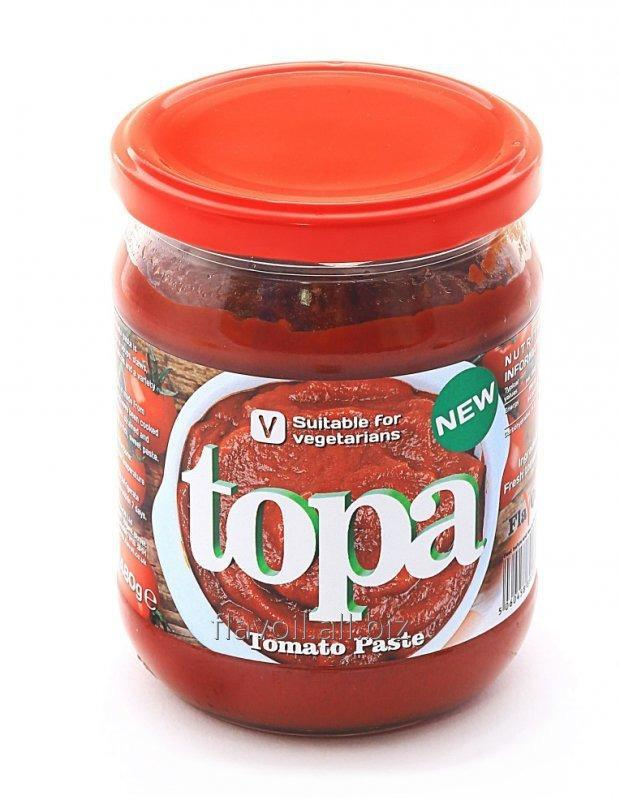 Topa  Volume: 430g Type of packaging: glass jar