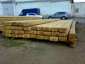 Buy Overlapping beam pine 4, 4.5 and 6 m long