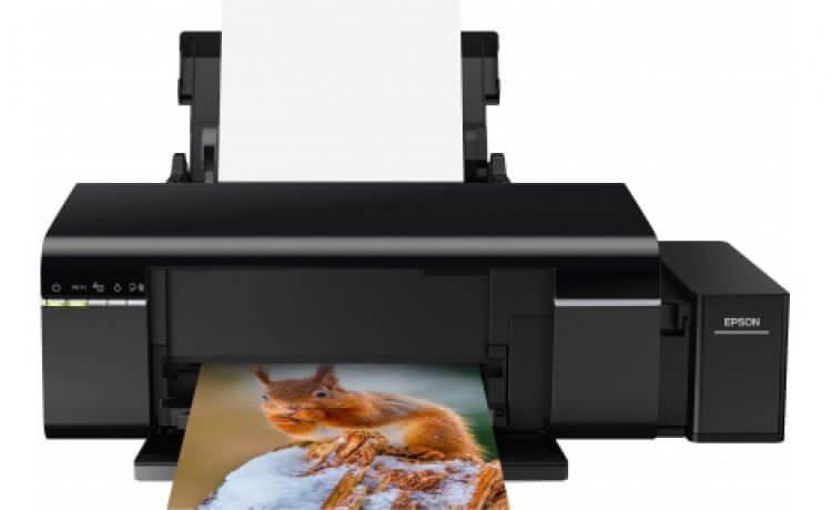 Принтер Epson L805 с оригинальной СНПЧ и чернилами INKSYSTEM (c11ce86403)