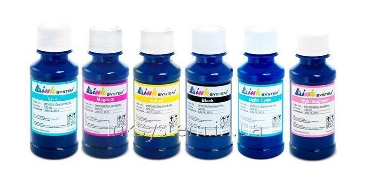 Чернила INKSYSTEM для фотопечати 100 мл (6 цветов)