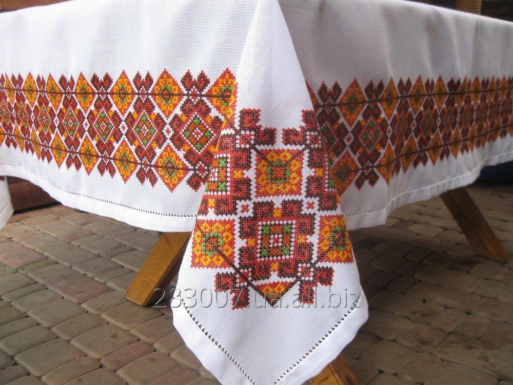 Buy A tablecloth embroidered Hutsul