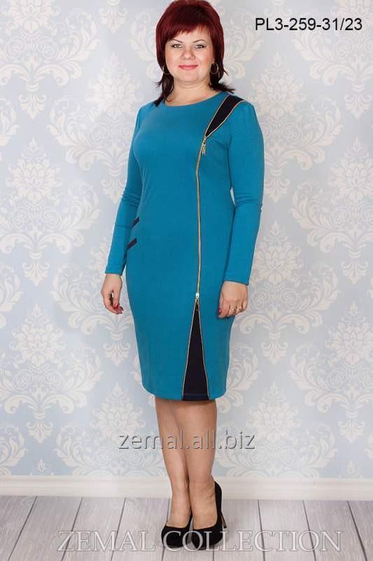 Платье PL3-259 французский трикотаж