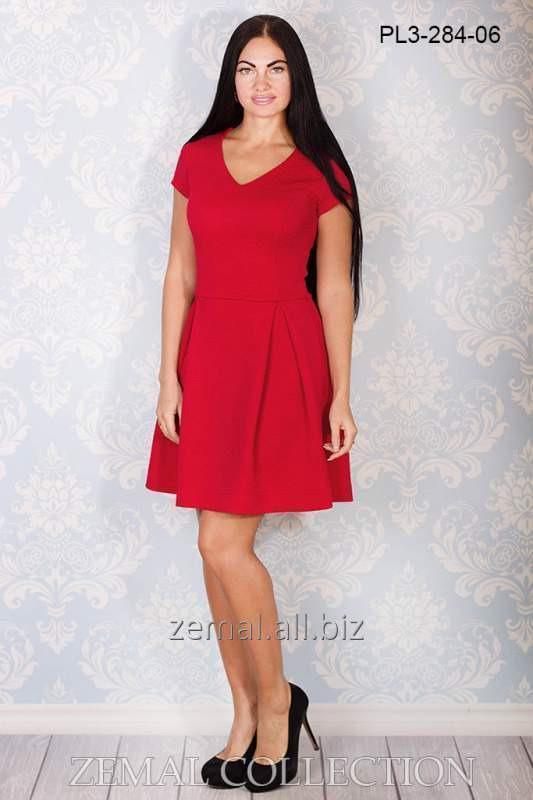 Платье PL3-284 трикотажное