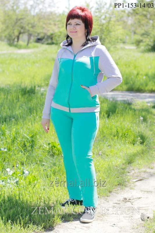 Спортивный трикотажный костюм PP1-153