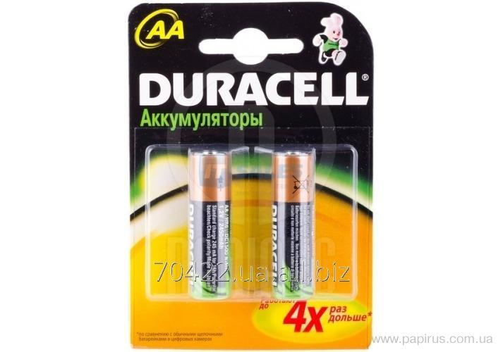 Аккумулятор Duracell HR6/AA, 2450 mAh, 2 шт/уп