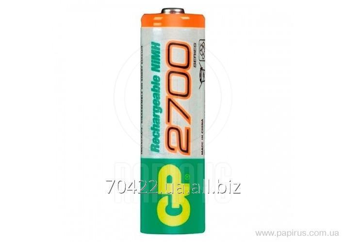 Аккумулятор GP AA 2700 mAh  270AAHC - U2  , 2 шт / уп  упак.