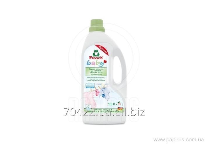 Buy Washing gel of linen Frosch Baby children's 1,5l
