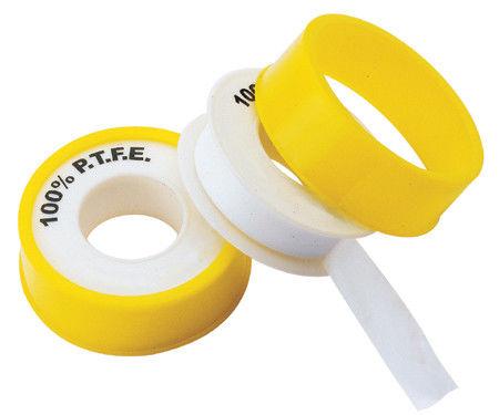 Купить Фум лента желтая 0.1мм х 10 м (10 шт упак)