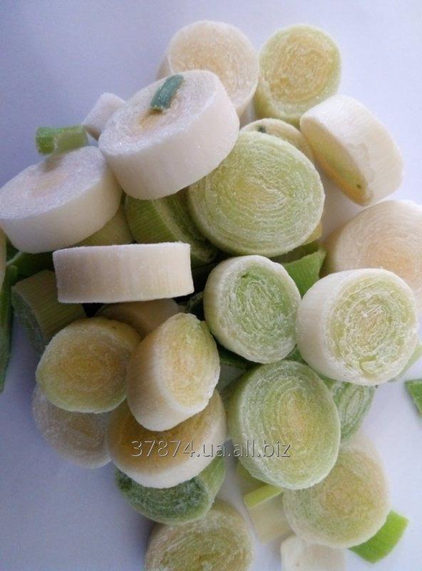Замороженный лук порей