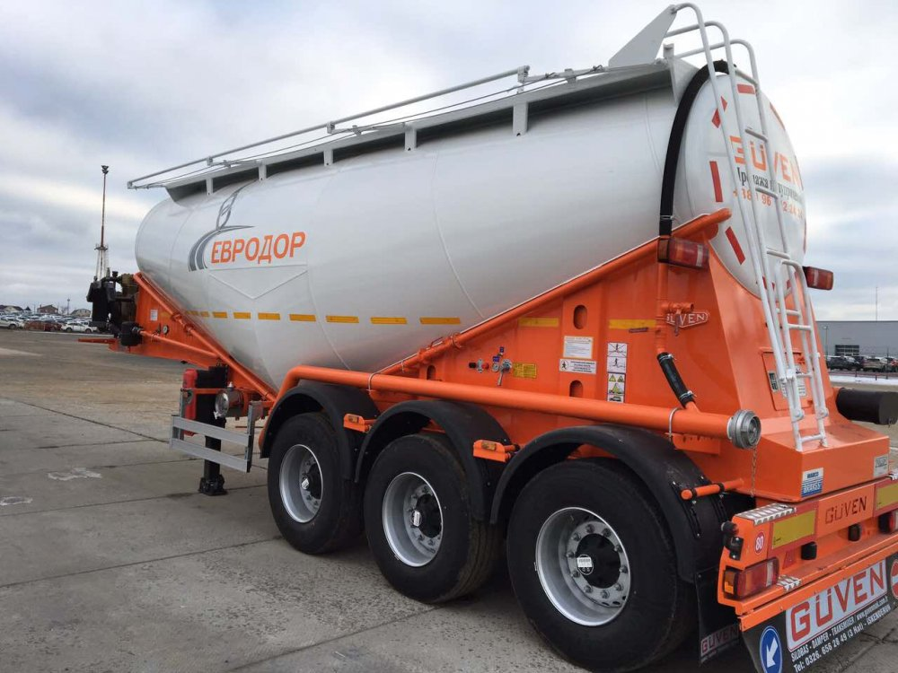 Buy Semi-trailer GUVEN MAKINA tank! LEADER of the Turkish automotive industry GUVEN cement truck