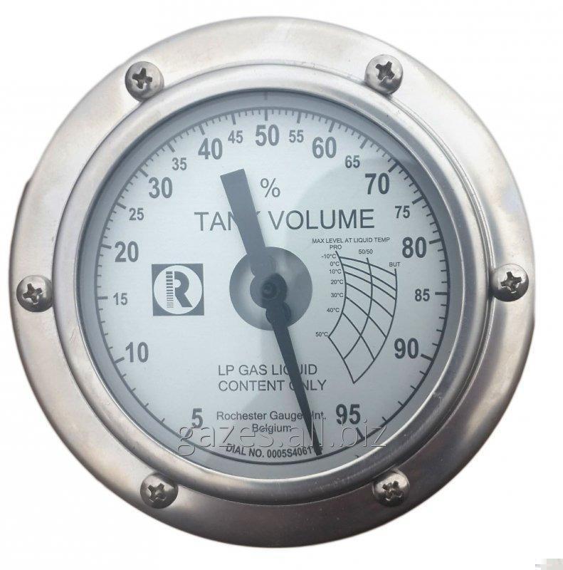 Указатель уровня Rochester gauges Magnetel 6300 для ГНС, больших стационарных емкостей СУГ, уровнемер сжиженного газа пропан-бутана, полуприцепов - газовозов