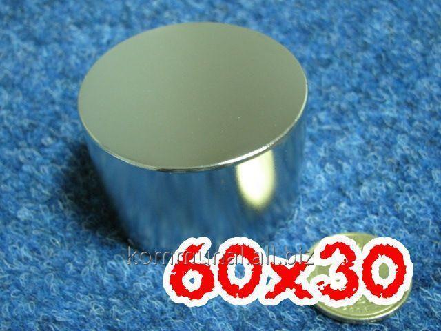 Купить Неодимовый магнит 60Х30