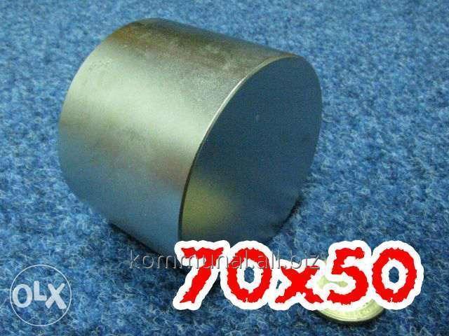 Купить Неодимовый магнит 70Х50
