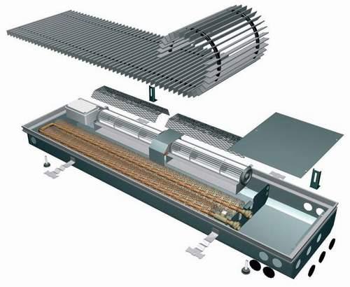 Купить Внутрипольные конвекторы c принудительной конвекцией ISAN Oplflex FLT (Termo Activ)