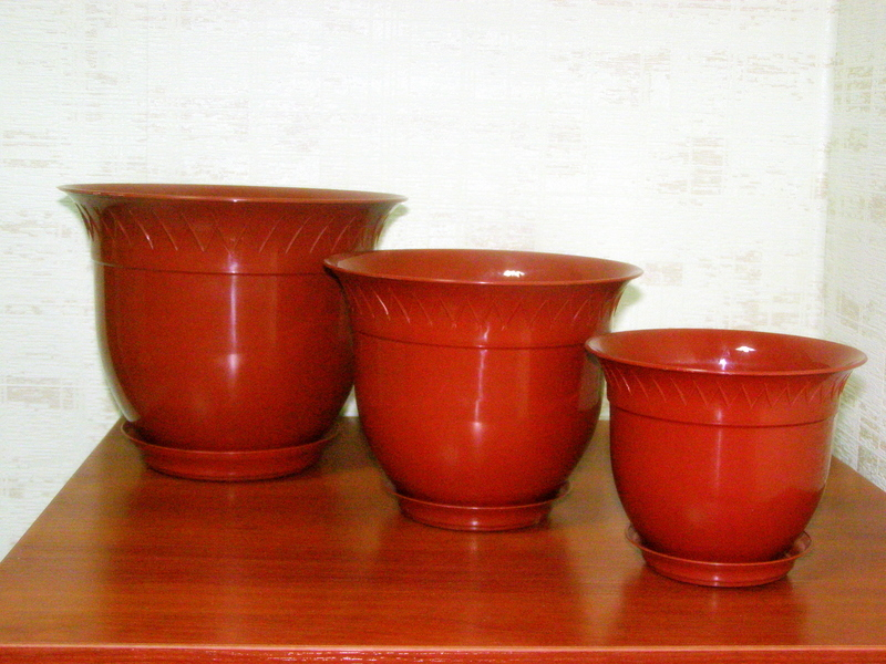 Купить Вазон для цветов из полипропилена Тира