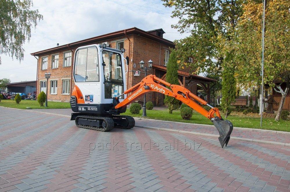 Купить Мини-экскаватор Kubota KX36-3
