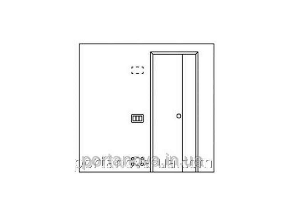 Встроенные точки освещения и электрическая фурнитура для дверей