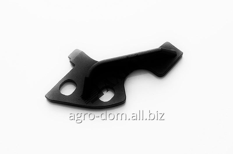 Нож-чистик передний ротора жатки Geringhoff Rota Disk (наплавка) 50 28 57