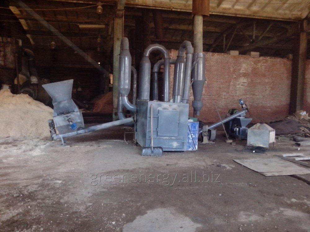 Купить Оборудование для производства топливных брикетов