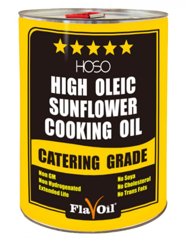 Подсолнечное масло HoSo Sunflower Cooking Oil  Volume: 20L Type of packaging: Metal tin