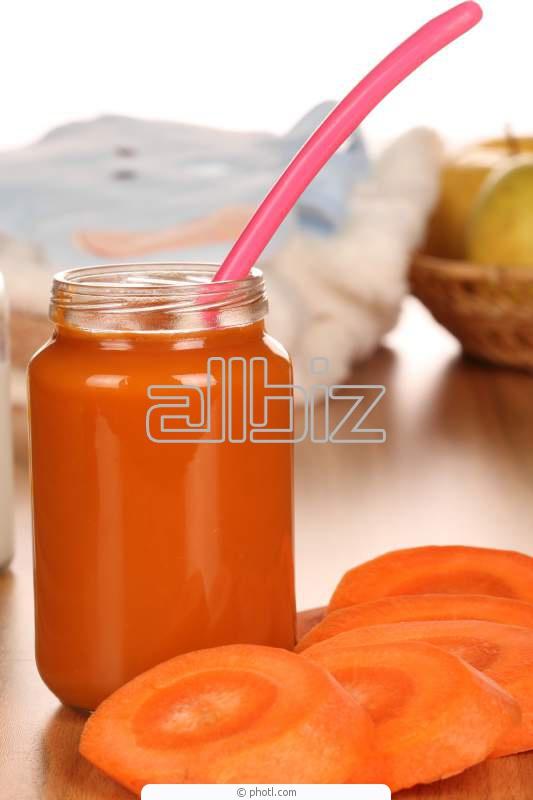 Пюре морковное асептическое