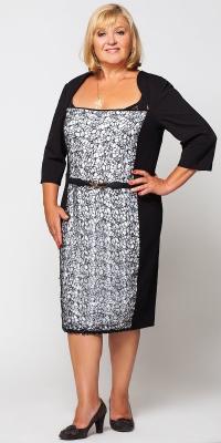 Жіноче плаття великих розмірів. Товар від виробника 4f986e26ea671