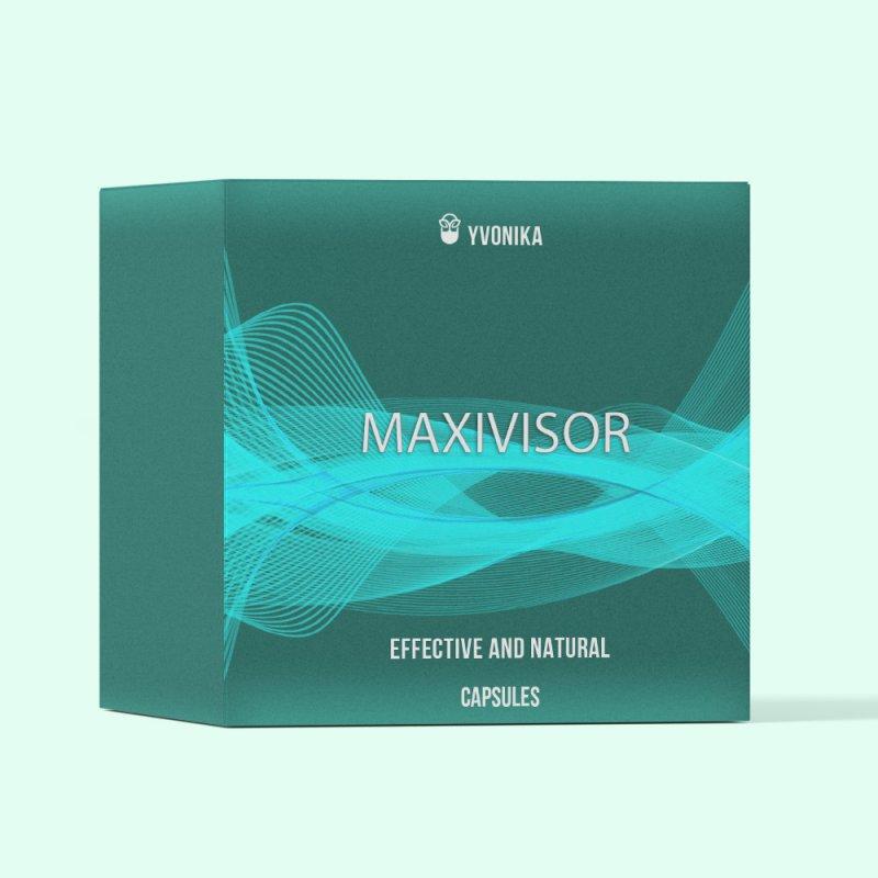 Капсулы MaxiVisor Максивизор для зрения