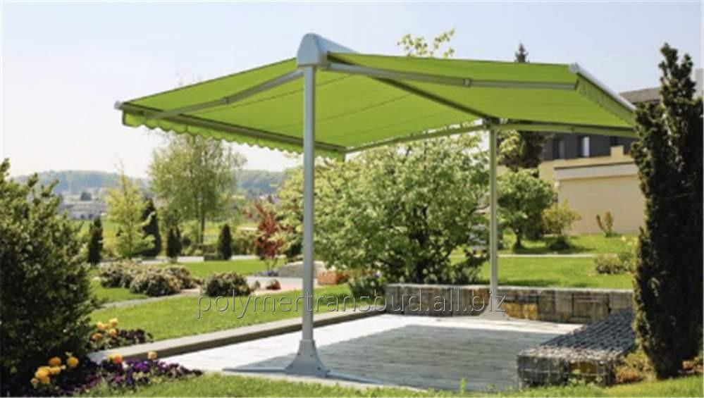 Купить Маркіза садова OMBRAMOBIL 555х450см із захисним дашком