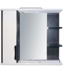 Купить Зеркало с пеналом,полочками и подсветкой Z-2 принц 70 венге