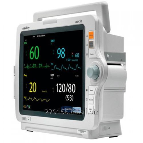 Monitor of the patient of IMEC12