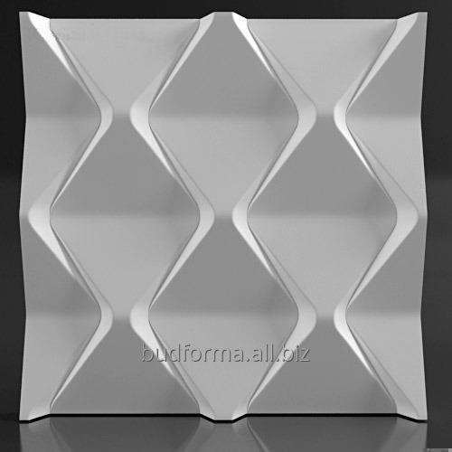 Купити Нові форми для виготовлення гіпсових 3D (три-д) панелей з гіпсу