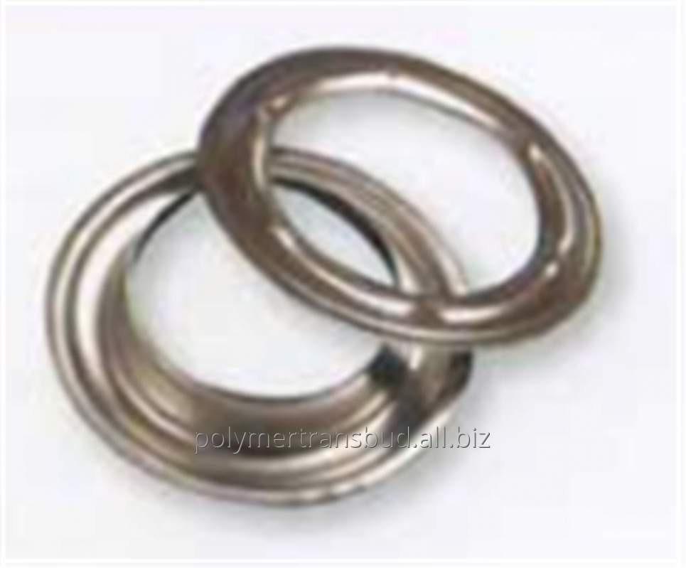 Купить Кольца круглые из латунные никелированные