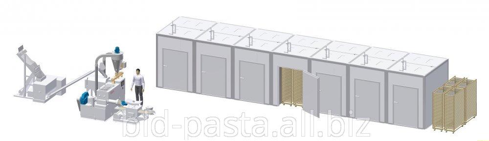 Комплекс для производства макаронных изделий 250 кг/ч