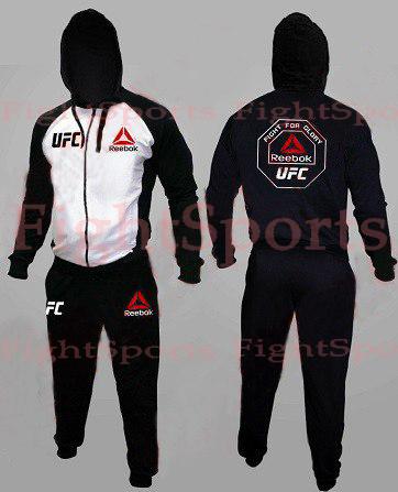 d4ebfc2b Спортивный костюм UFC REEBOK WHITE купить в Кременчуге