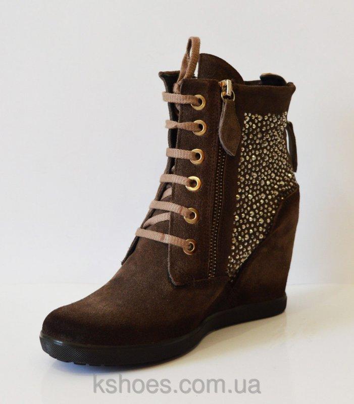 Купить Женские ботинки со стразами Pepol