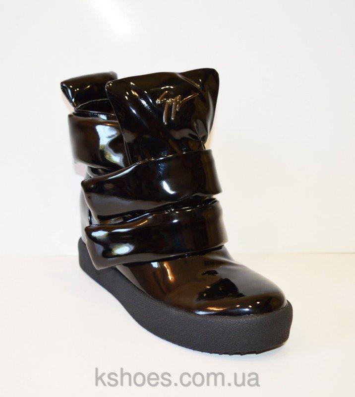 Купить Осенние лакированные ботинки Fabio Monelli 1022