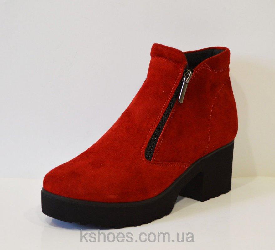 Купить Красные женские ботинки Selesta 4811