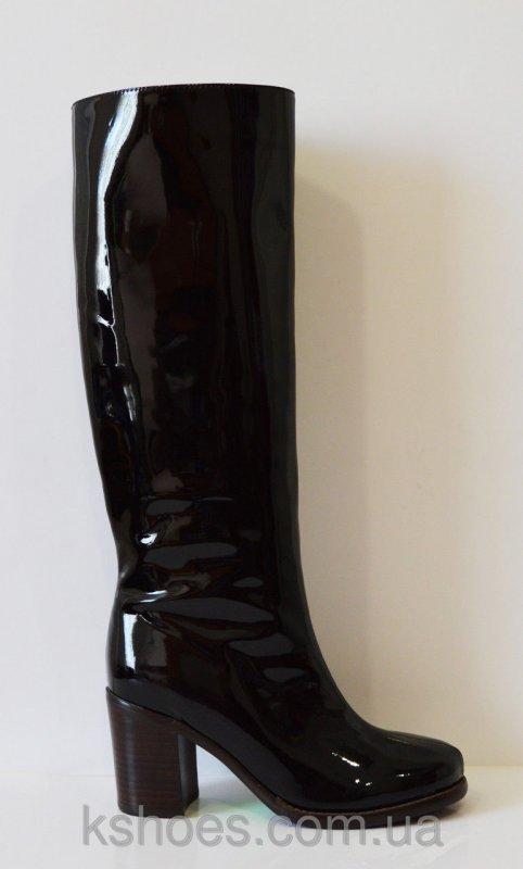 Купить Сапоги женские черные Deenoor 303-1556