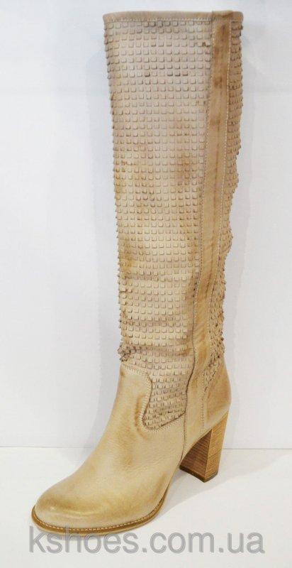 Купить Кремовые женские сапоги Venezia 780