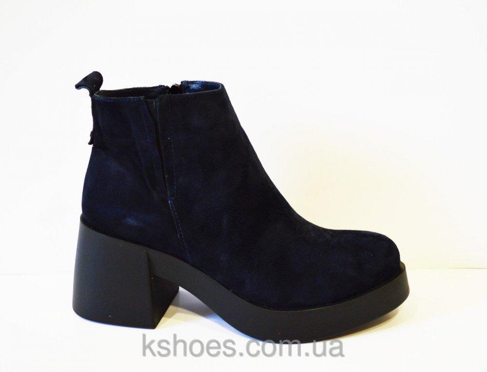 Купить Синие женские ботинки El Passo 1895