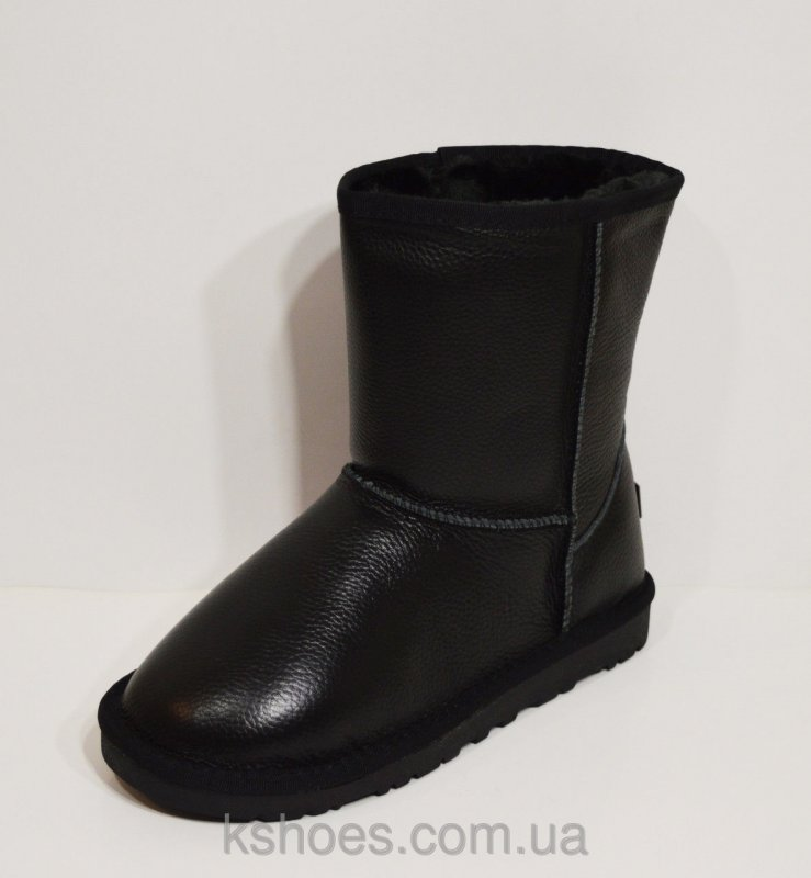 Купить Угги женские черные Sopra 5825