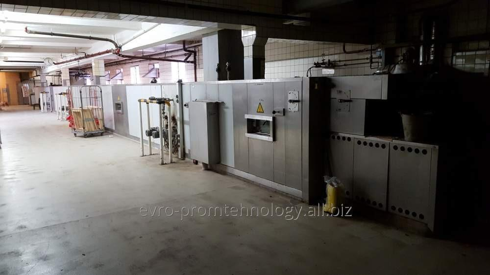 Печь туннельная термомасляная DAUB