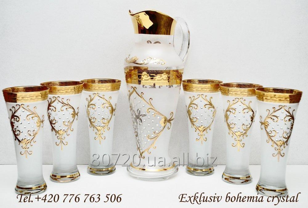 Купить Богомское стекло.Набор для компота