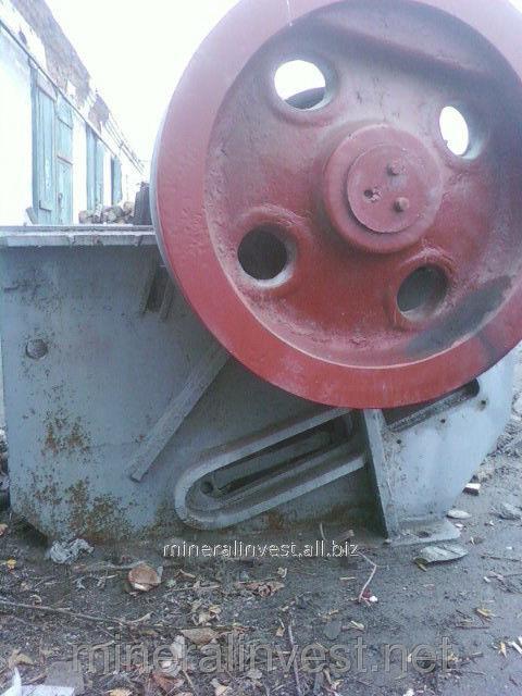 Дробилка щековая СМ-741