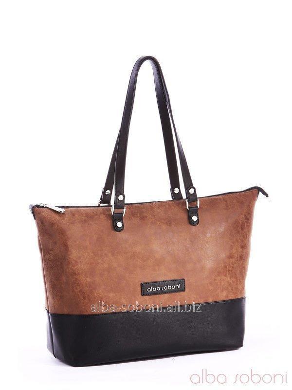 Сумка 162025 черно-коричневый