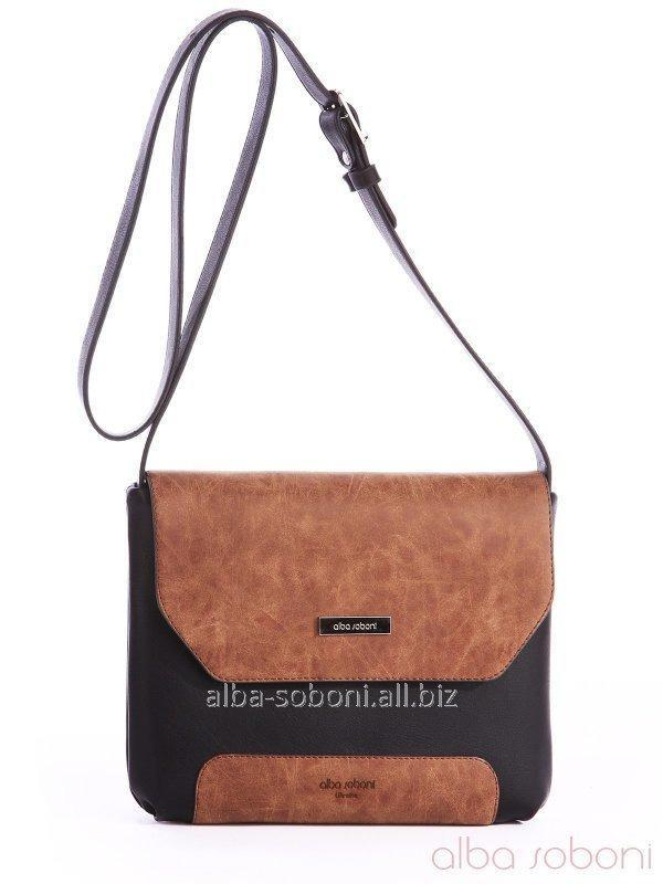 Клатч 162045 черно-коричневый