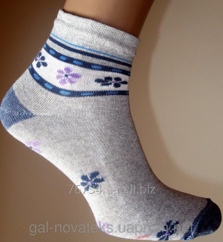 Носки Подростковые 20р Цвет