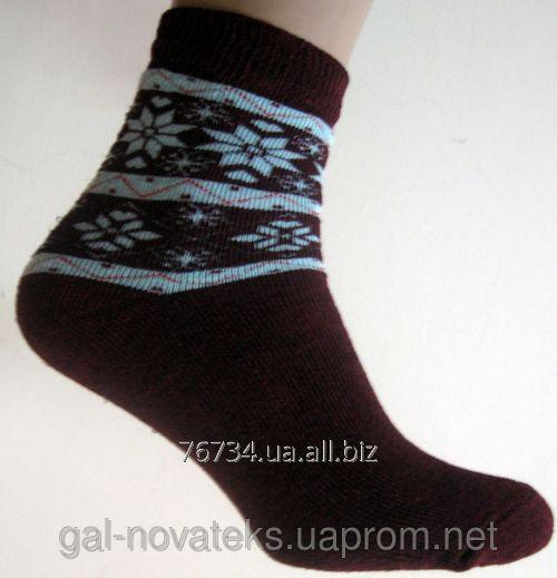 Носки подростковые махровые 22р