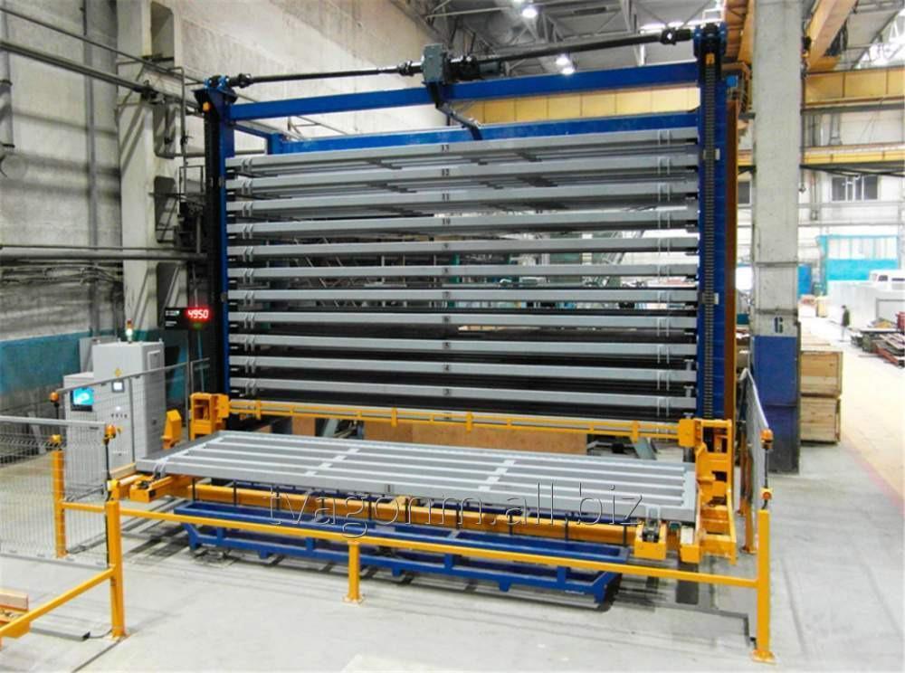 Купить Автоматизированные склады листового металлопроката для производства трамваев