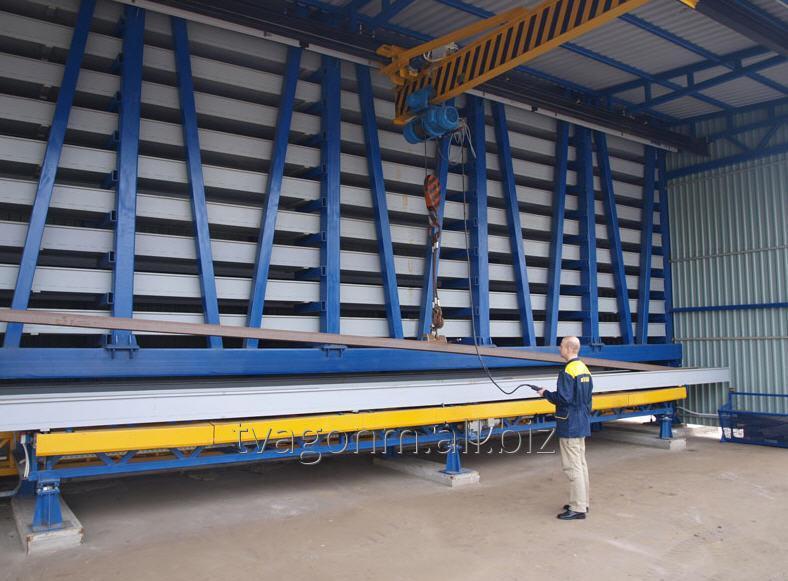 Купить Автоматизированные склады профильного металлопроката